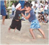 子ども相撲の写真
